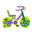 children s bicycles children s transport vector image vector image
