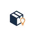 creative box logo icon design vector image vector image