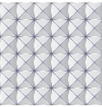 Crumpled paper with geometric seamless pattern vector image