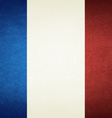 Grunge Flag Of France vector image vector image