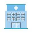 hospital design vector image vector image
