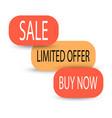 sale banner design creative discount poster vector image vector image