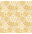 seamless colorful retro flower background pattern vector image vector image