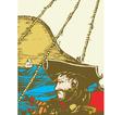 Blackbeard the Pirate vector image vector image