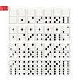 Creative of realistic domino