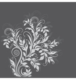 Elegant decorative floral