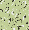 green abstract seamless vector image vector image