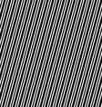 Seamless black and white angular stripe pattern vector image vector image