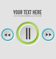 web music template vector image