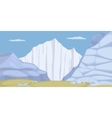 Ice Land vector image