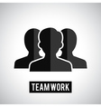 Team work icon vector image