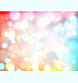 bokeh blurred background vector image vector image