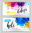 Calligraphic header and banner set vector image vector image