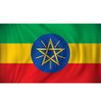 Flag of Ethiopia vector image