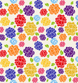 FlowerSeamless vector image vector image