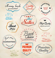 set of badge and labels 3 vector image vector image