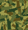Statue of Liberty Military camouflage American vector image