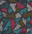 urban seamless pattern vector image