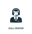 call center icon symbol creative sign from vector image