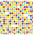 Colorful mosaic seamless pattern Tile vector image vector image
