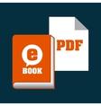 download e-book design vector image vector image
