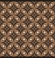 modern art work flower motifs on batik design vector image vector image