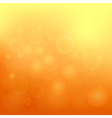 orange blurred background vector image vector image