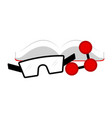 science lab icon vector image