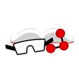 science lab icon vector image