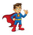 Superhero Boy vector image vector image