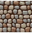 colored old stone texture cartoon seamless vector image vector image