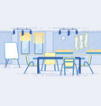 modern conference hall room for business meeting vector image