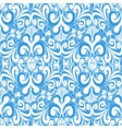 Seamless vintage blue background vector image