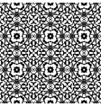 art deco pattern in black and white vector image vector image