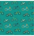 Bike Pattern vector image vector image