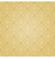 Golden festive seamless pattern vector image vector image