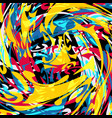 graffiti abstract beautiful colorful background vector image vector image