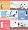 medicine healthcare service in hospital medical vector image vector image