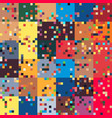 pixel art glitched geometric abstract abstract vector image vector image