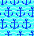 sea anchors vector image vector image