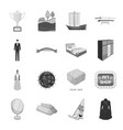 wedding transport mine and other web icon in vector image vector image