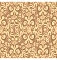 Seamless vintage brown background vector image