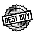 best buy stamp on white vector image