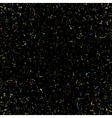 Black Grainy Texture vector image