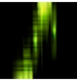 Conceptual dark green stripes background vector image vector image