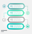 Modern strips infographics different options
