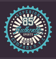 superior authentic sports denim vector image