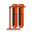 test tubes icon image vector image vector image