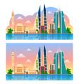 travel to bahrain manama vector image