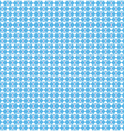 Seamless love pattern White hearts and pink dots vector image